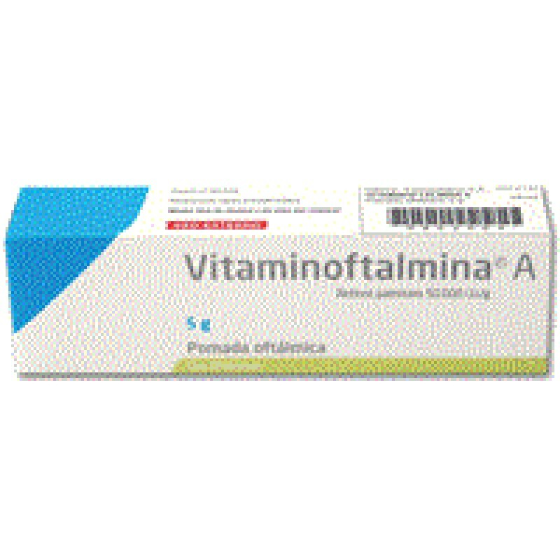 Vitaminoftalmina A Pomada Oftálmica 27,5 mg - 5g - comprar Vitaminoftalmina A Pomada Oftálmica 27,5 mg - 5g online - Farmácia...