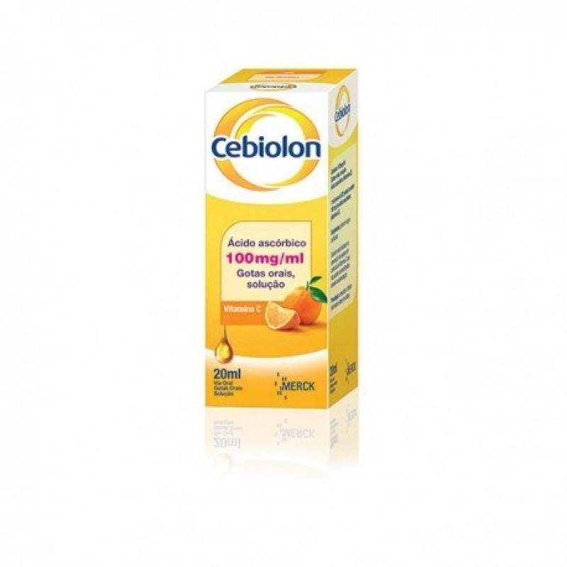 Cebiolon Gotas Orais 100 mg/ml - 20ml - comprar Cebiolon Gotas Orais 100 mg/ml - 20ml online - Farmácia Barreiros - farmácia ...