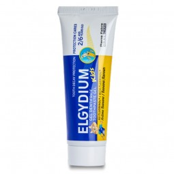 Elgydium Kids Gel Dentífrico Banana - 50 mL - comprar Elgydium Kids Gel Dentífrico Banana - 50 mL online - Farmácia Barreiros...