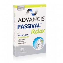 Advancis Passival Relax - 30 comprimidos - comprar Advancis Passival Relax - 30 comprimidos online - Farmácia Barreiros - far...