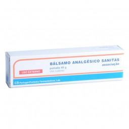 Bálsamo Analgésico Sanitas - 40 g - comprar Bálsamo Analgésico Sanitas - 40 g online - Farmácia Barreiros - farmácia de serviço