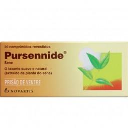 Pursennide Prisão de Ventre 20mg - 20 comprimidos - comprar Pursennide Prisão de Ventre 20mg - 20 comprimidos online - Farmác...