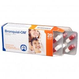 Bronquial-OM 375/60mg - 20 cápsulas - comprar Bronquial-OM 375/60mg - 20 cápsulas online - Farmácia Barreiros - farmácia de s...