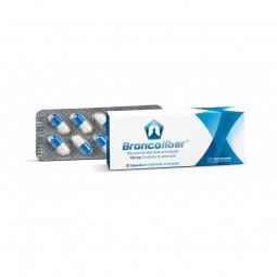 Broncoliber 120mg - 20 cápsulas - comprar Broncoliber 120mg - 20 cápsulas online - Farmácia Barreiros - farmácia de serviço