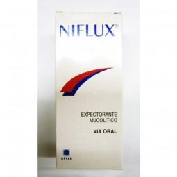 Niflux Xarope 50/8mg/ml - 200ml - comprar Niflux Xarope 50/8mg/ml - 200ml online - Farmácia Barreiros - farmácia de serviço
