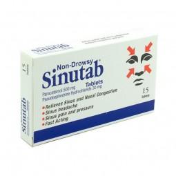 Sinutab II - 20 comprimidos - comprar Sinutab II - 20 comprimidos online - Farmácia Barreiros - farmácia de serviço