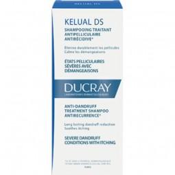 Ducray Kelual DS Champô Anticaspa - 100 mL - comprar Ducray Kelual DS Champô Anticaspa - 100 mL online - Farmácia Barreiros -...