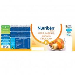Nutribén Boião Maçã, Laranja, Banana e Bolacha - 250 g - comprar Nutribén Boião Maçã, Laranja, Banana e Bolacha - 250 g onlin...