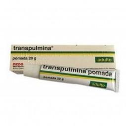Transpulmina Pomada Adulto 25/100/50 mg/g - 20g - comprar Transpulmina Pomada Adulto 25/100/50 mg/g - 20g online - Farmácia B...