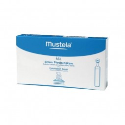 Mustela Bebé Soro Fisiológico - 20 monodoses x 5 mL - comprar Mustela Bebé Soro Fisiológico - 20 monodoses x 5 mL online - Fa...