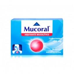 Mucoral 400mg - 20 cápsulas - comprar Mucoral 400mg - 20 cápsulas online - Farmácia Barreiros - farmácia de serviço