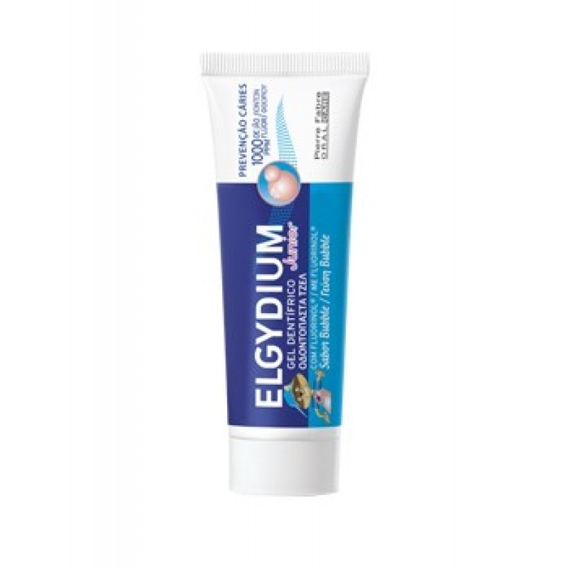 Elgydium Junior Bubble Gel Dentífrico - 50 mL - comprar Elgydium Junior Bubble Gel Dentífrico - 50 mL online - Farmácia Barre...