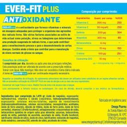 Ever Fit Plus Antioxidante - 90 comprimidos - comprar Ever Fit Plus Antioxidante - 90 comprimidos online - Farmácia Barreiros...
