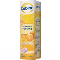 Cebion Sabor Laranja - 20 comprimidos efervescentes - comprar Cebion Sabor Laranja - 20 comprimidos efervescentes online - Fa...