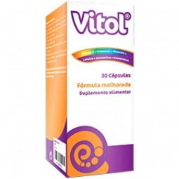 Vitol - 30 cápsulas de gelatina mole - comprar Vitol - 30 cápsulas de gelatina mole online - Farmácia Barreiros - farmácia de...