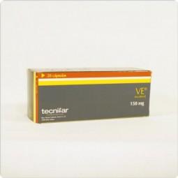 VE 150 mg - 20 cápsulas - comprar VE 150 mg - 20 cápsulas online - Farmácia Barreiros - farmácia de serviço