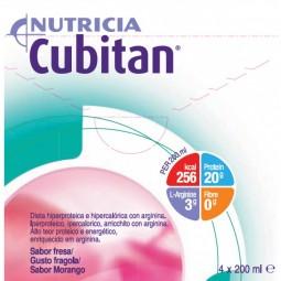 Cubitan Morango - 4 x 200 mL - comprar Cubitan Morango - 4 x 200 mL online - Farmácia Barreiros - farmácia de serviço