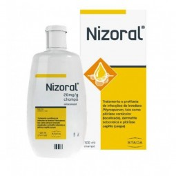 Nizoral Shampoo 20mg - 100ml - comprar Nizoral Shampoo 20mg - 100ml online - Farmácia Barreiros - farmácia de serviço