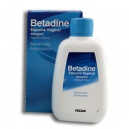 Betadine Espuma Vaginal 40mg - 200ml - comprar Betadine Espuma Vaginal 40mg - 200ml online - Farmácia Barreiros - farmácia de...