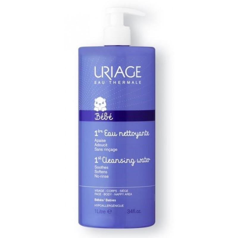 Uriage Bebé 1ª Água de Limpeza - 1 L - comprar Uriage Bebé 1ª Água de Limpeza - 1 L online - Farmácia Barreiros - farmácia de...