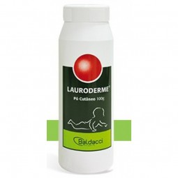 Lauroderme Pó Cutâneo - 100g - comprar Lauroderme Pó Cutâneo - 100g online - Farmácia Barreiros - farmácia de serviço