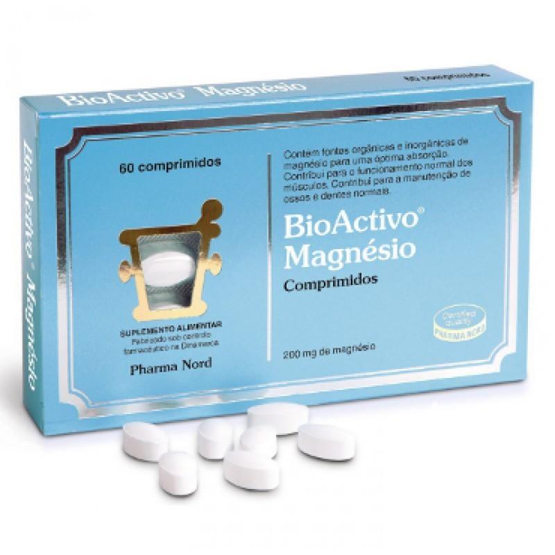 BioActivo Magnésio - 60 comprimidos - comprar BioActivo Magnésio - 60 comprimidos online - Farmácia Barreiros - farmácia de s...