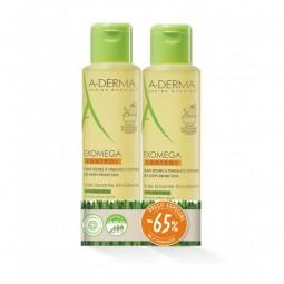 A-Derma Exomega Control Óleo Duche Emoliente c/ Desconto 65% 2ª Embalagem - 2 x 500 - comprar A-Derma Exomega Control Óleo Du...