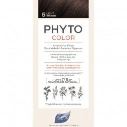 Phyto Phytocolor Coloração Permanente 5 Castanho Claro - 1 kit coloração - comprar Phyto Phytocolor Coloração Permanente 5 Ca...