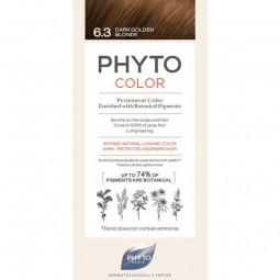 Phyto Phytocolor Coloração Permanente 6.3 Louro Escuro Dourado - 1 Kit de Coloração - comprar Phyto Phytocolor Coloração Perm...
