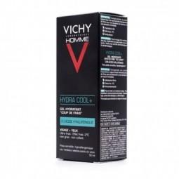 Vichy Homme Hydra Cool+ Gel Hidratante - 50 mL - comprar Vichy Homme Hydra Cool+ Gel Hidratante - 50 mL online - Farmácia Bar...