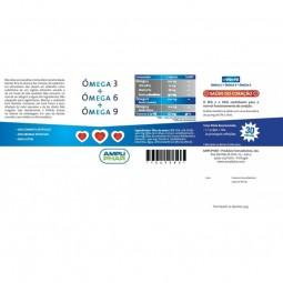 Win-Fit Ómega 3 + Ómega 6 + Ómega 9 c/ Oferta 2ª Embalagem - 30 cápsulas - comprar Win-Fit Ómega 3 + Ómega 6 + Ómega 9 c/ Ofe...