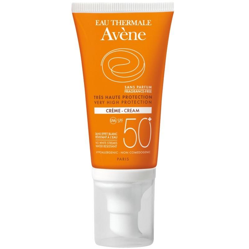 Avène Solar Creme SPF 50+ s/ Perfume - 50 mL - comprar Avène Solar Creme SPF 50+ s/ Perfume - 50 mL online - Farmácia Barreir...