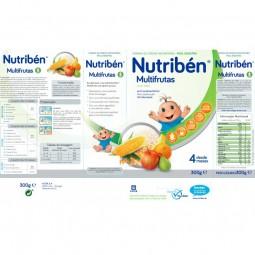 Nutribén Multifrutas sem Açúcar - 300 g - comprar Nutribén Multifrutas sem Açúcar - 300 g online - Farmácia Barreiros - farmá...