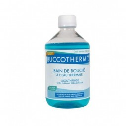 Buccotherm Colutório com Água Termal - 300 mL - comprar Buccotherm Colutório com Água Termal - 300 mL online - Farmácia Barre...