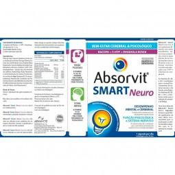 Absorvit Smart Neuro - 30 cápsulas - comprar Absorvit Smart Neuro - 30 cápsulas online - Farmácia Barreiros - farmácia de ser...