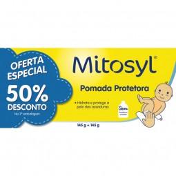 Mitosyl Pomada Protetora - 2 x 145g - comprar Mitosyl Pomada Protetora - 2 x 145g online - Farmácia Barreiros - farmácia de s...