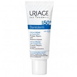 Uriage Bariéderm Cica-Creme SPF 50+ - 40 mL - comprar Uriage Bariéderm Cica-Creme SPF 50+ - 40 mL online - Farmácia Barreiros...