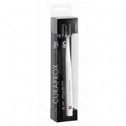 Curaprox Kit Black is White Escova de Dentes - 2 escovas de dentes - comprar Curaprox Kit Black is White Escova de Dentes - 2...