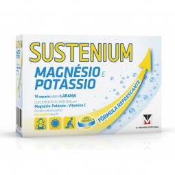 Sustenium Magnésio Potássio - 14 saquetas - comprar Sustenium Magnésio Potássio - 14 saquetas online - Farmácia Barreiros - f...