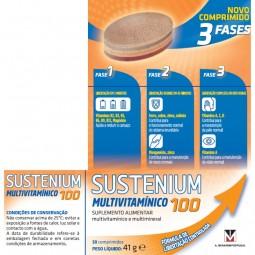 Sustenium Multivitamínico 100 - 30 comprimidos - comprar Sustenium Multivitamínico 100 - 30 comprimidos online - Farmácia Bar...