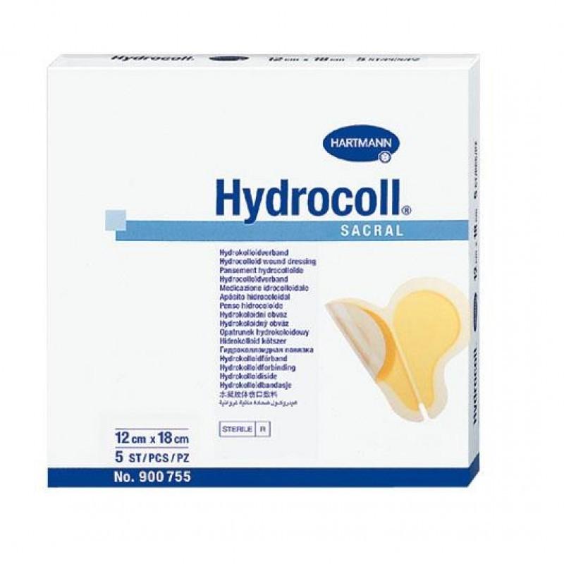 Hydrocoll Sacral - 5 pensos (12 x 18 cm) - comprar Hydrocoll Sacral - 5 pensos (12 x 18 cm) online - Farmácia Barreiros - far...