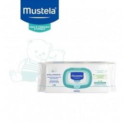 Mustela Bebé Pele Atópica Stelatopia Toalhetes de Limpeza Relipidantes c/ Preço Especial - 3 x 50 toalhetes - comprar Mustela...