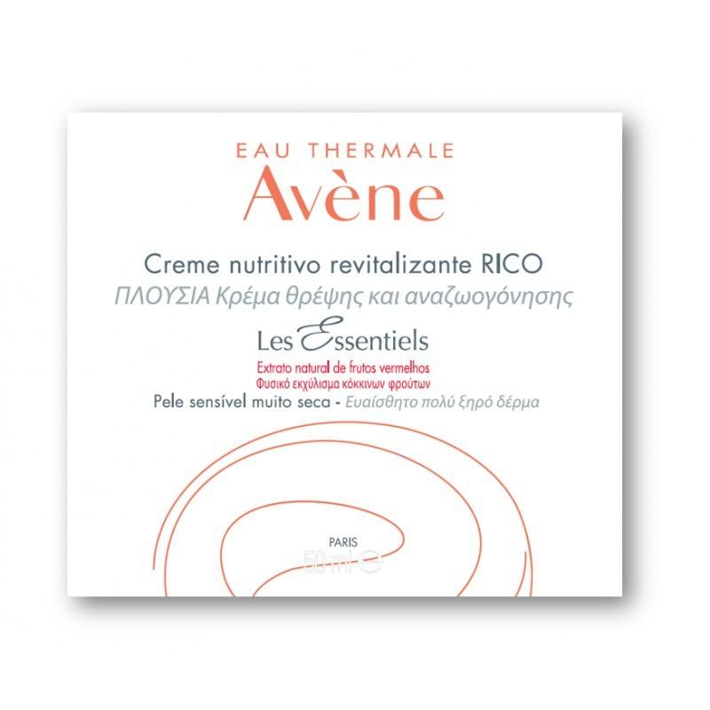 Avène Creme Nutritivo Revitalizante Rico - 50ml - comprar Avène Creme Nutritivo Revitalizante Rico - 50ml online - Farmácia B...