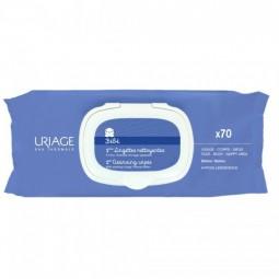 Uriage Bebé 1ºs Toalhetes de Limpeza Duo c/ Oferta 2ª Embalagem - 2 x 70 toalhetes - comprar Uriage Bebé 1ºs Toalhetes de Lim...