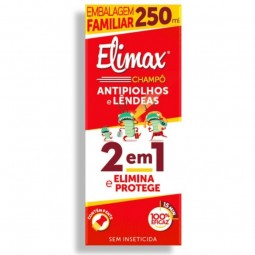 Elimax Champô Piolhos e Lêndeas + Pente - 250 mL - comprar Elimax Champô Piolhos e Lêndeas + Pente - 250 mL online - Farmácia...