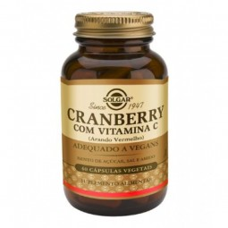 Solgar Cranberry com Vitamina C - 60 cápsulas - comprar Solgar Cranberry com Vitamina C - 60 cápsulas online - Farmácia Barre...