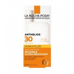 La Roche Posay Anthelios Shaka Fluido Ultra Resistente SPF 30 s/ Perfume - 50 mL - comprar La Roche Posay Anthelios Shaka Flu...
