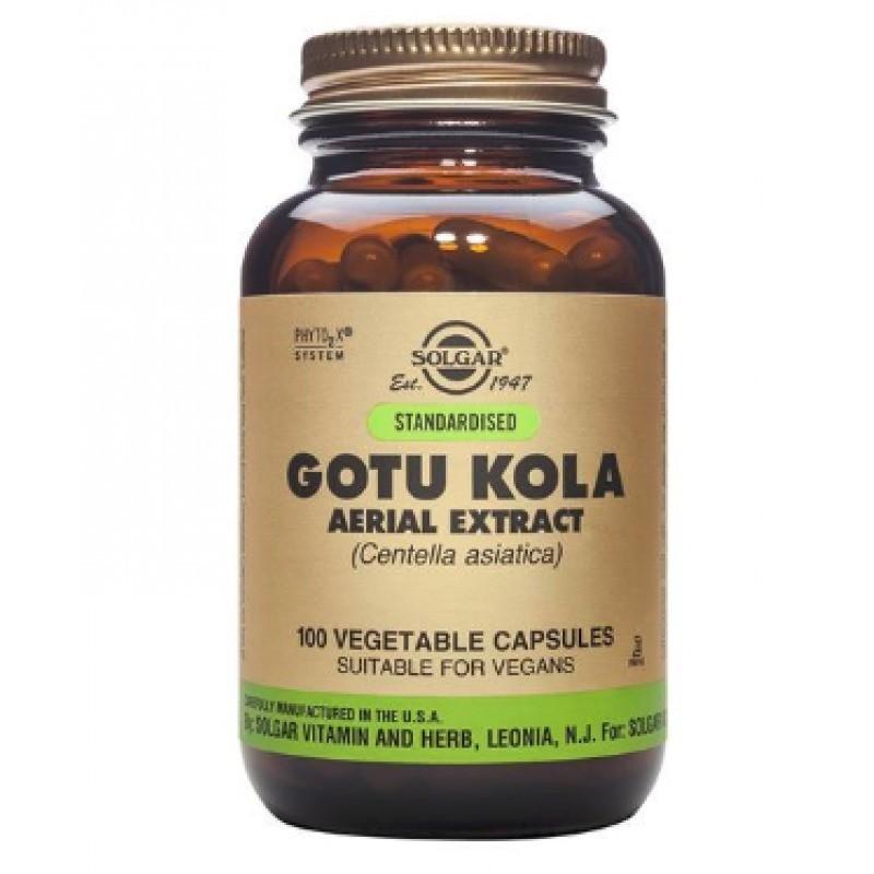 Solgar Gotu Kola - 100 cápsulas - comprar Solgar Gotu Kola - 100 cápsulas online - Farmácia Barreiros - farmácia de serviço