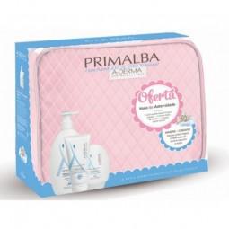 A-Derma Primalba Mala Maternidade Rosa - 500 mL + 100 mL + 100 mL + 1 mala maternidade - comprar A-Derma Primalba Mala Matern...