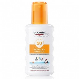 Eucerin Sensitive Protect Spray Solar Crianças SPF 50+ c/ Desconto 20% - 200 mL - comprar Eucerin Sensitive Protect Spray Sol...